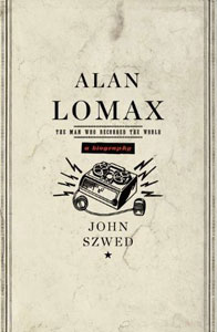 An Alan Lomax book that features Wild West Press fonts on the cover