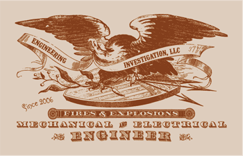 A company logo created with fonts and clip art from the New Victorian Printshop