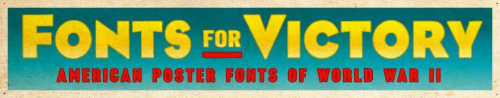 american poster fonts of world war ii volume 2
