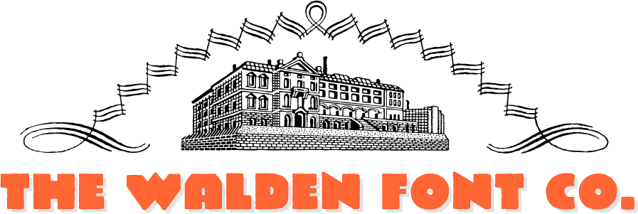 The Walden Font Co. logo