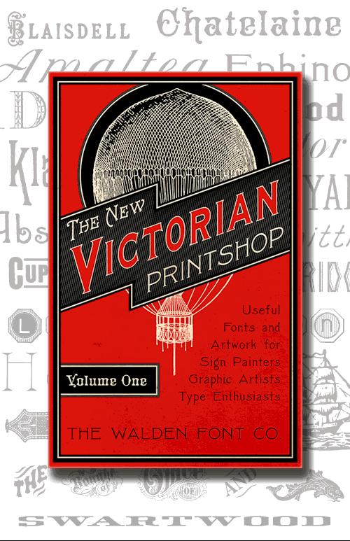 The New Victorian Printshop Vol  1: Thirty-six splendid 19th century